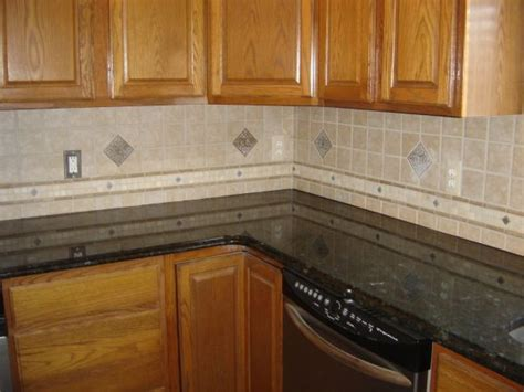 nice ceramic tile backsplash pattern with raised border kitchen tiles for subway