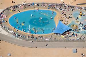 schwimmbad deggendorf aerial view swimming pool brighton sussex jason