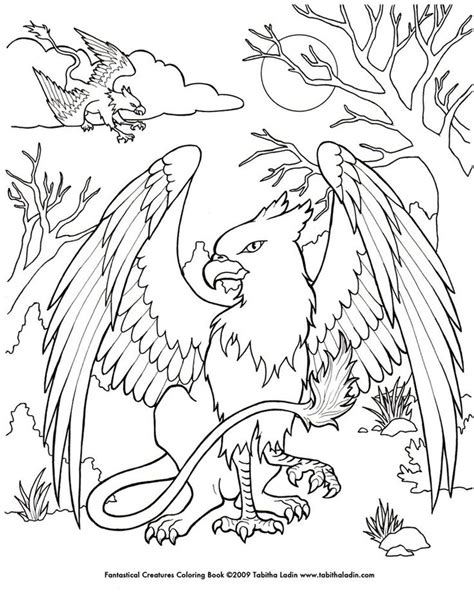 coloring book credits a page from my quot fantastical creatures coloring book quot