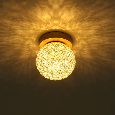 Rattan Ceiling Light Popular Rattan Ceiling Light Buy Cheap Rattan Ceiling Light Lots From China Rattan Ceiling Light