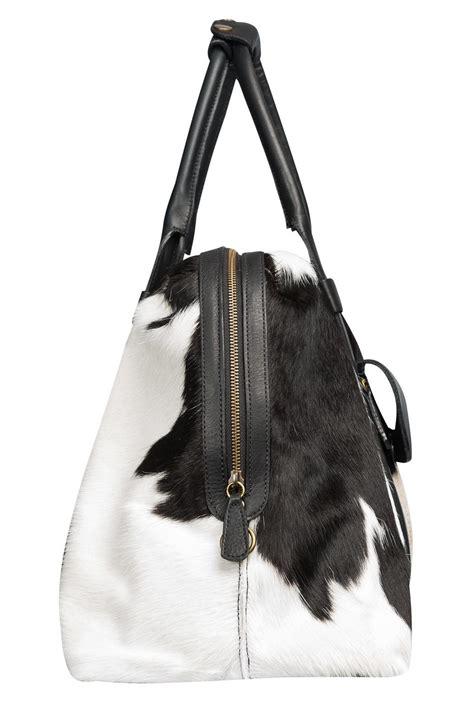 Cowhide Bag - humawaca cowhide travel bag from argentina shoptiques
