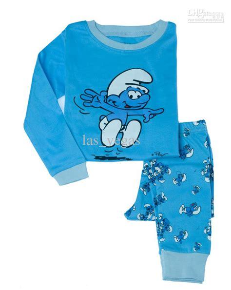 Pajamas Hk 2017 smurf baby pj pajamas sleeper pjs suit