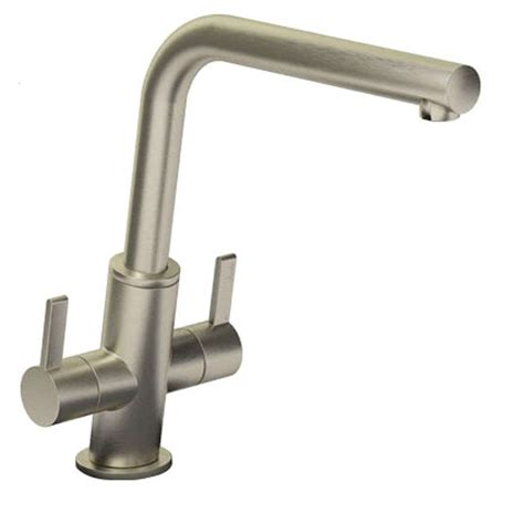 kitchen sinks taps abode estimo brushed nickel tap at1233 kitchen sinks taps