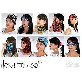 Buff Headware Bandana Masker 309 The Original Buff Multipurpose Magic Headwear Design As