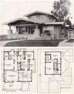 California Bungalow House Plans E W Stillwell Airplane Bungalow C 1918