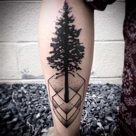 geometric tattoo artists virginia geometric tree by jeremy moore tattoonow