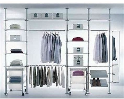 Clothes Storage Systems In Walk In Wardrobes Ikea Stolmen Storage Shelves System Walk In Wardrobe