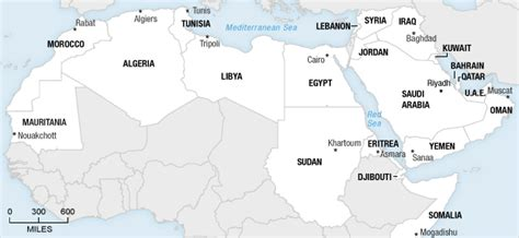 map of arab countries from tunisia flares across arab world npr