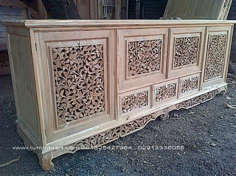 Meja Rias Palembang bufet palembang ukiran kayu jati jepara pintu jati jepara