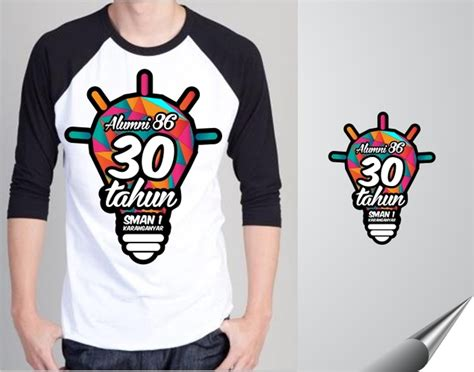 Kaos White Logo 1 sribu office clothing design company