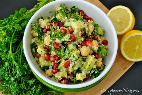 Detox Quinoa Salad by Superfood Salad With Pomegranate And Quinoa