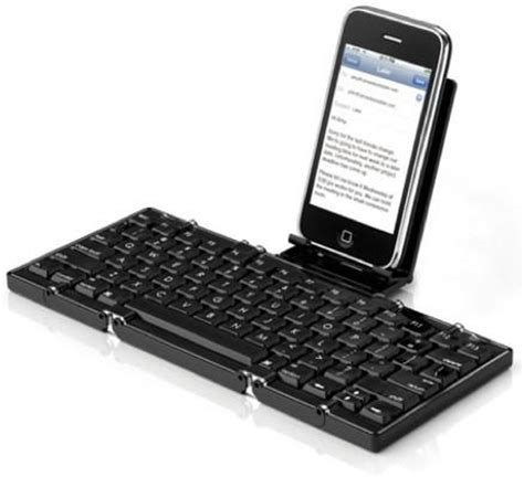 the jorno is a cute, miniature folding keyboard for the