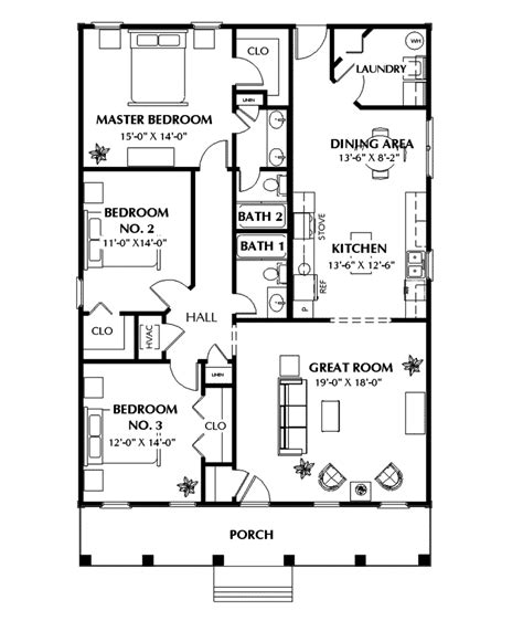 1st floor plan house benkelman ranch home plan 028d 0025 house plans and more