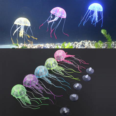 5 colour a set for artificial jellyfish fish