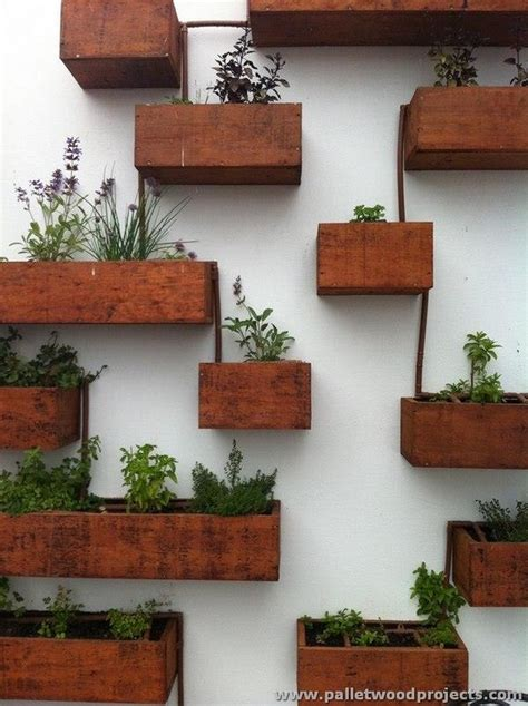 pallet planter wall adorable pallet wall planter ideas pallet wood projects