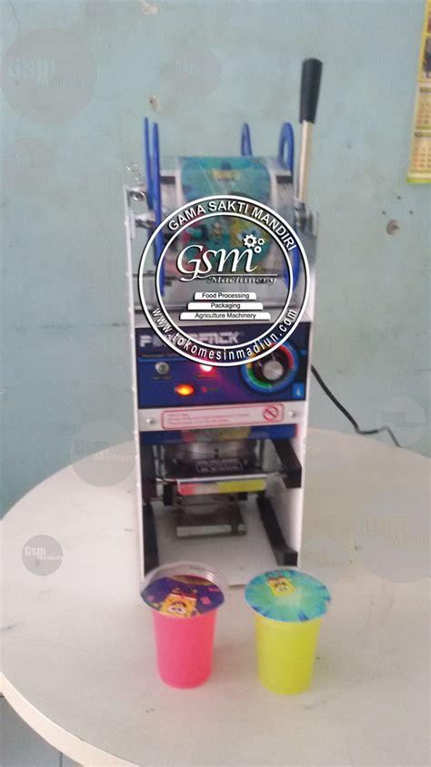 Teh Jawa Cup mesin cup sealer manual termurah di madiun jawa timur