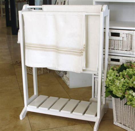 white towel racks bathroom towel rack freestanding white wooden towel rack 65cm