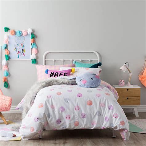 kids coverlets adairs kids bff quilt cover set adairs kids bedroom