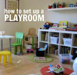 how to set up a room how to set up a playroom