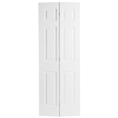 30 X 77 Interior Door by Shop Reliabilt Hollow 6 Panel Bi Fold Closet Interior