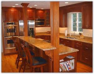 Kitchen Island With Granite Top And Breakfast Bar granite top kitchen island breakfast bar home design ideas