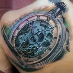 Clock face tattoo 80 clock tattoo designs for men timeless ink ideas