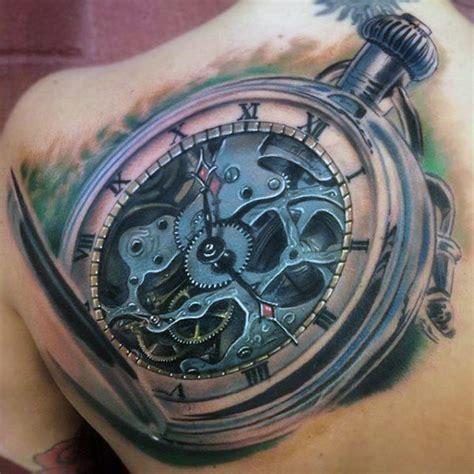 tattoo old school clock 80 clock tattoo designs for men timeless ink ideas
