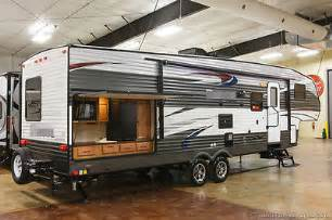 fifth wheel with outdoor kitchen new 2016 295bhss lite bunkhouse fifth 5th wheel slide out