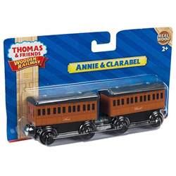 thomas amp friends wooden railway 2 pack annie clarabel y4422 target australia