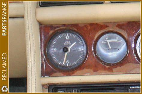 bentley  turbo  dash vdo quartz clock analogue rolls royce silver spirit