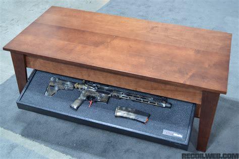 gun storage coffee table 2017 firearm storage extravaganza recoil