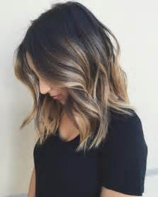 haircuts and color 10 balayage hairstyles for shoulder length hair medium
