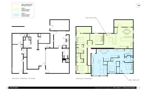 2 storey commercial building floor plan concept projects gallery sitka studios