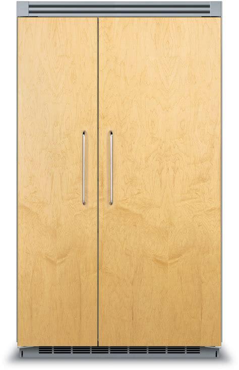 refrigerators that accept cabinet panels manicinthecity