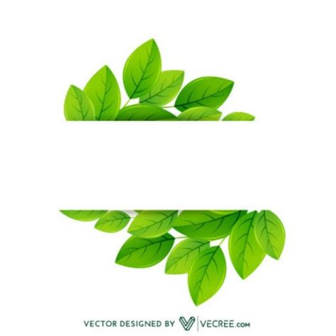 Beschriftung Laubblatt by Eco Friendly Leaves Label Designspiration