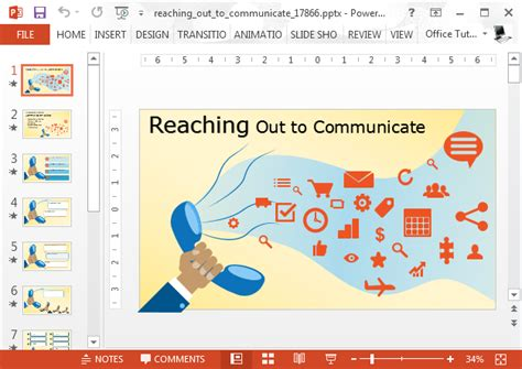 templates for powerpoint communication animated communication powerpoint templates slidehunter com