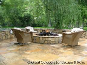 Backyard Flagstone Patio Ideas Pit On Flagstone Patio Pits And Outdoor Pits