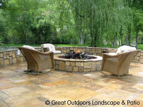 1000 Images About Fire Pit On Pinterest Flagstone Patio Backyard Flagstone Patio Ideas