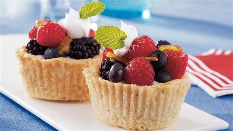 f fruit cups sugar cookie fruit cups recipe from pillsbury