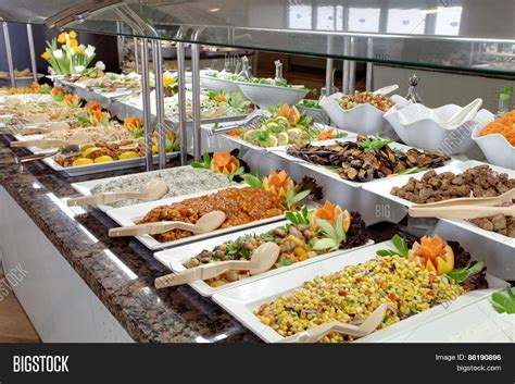 food buffet in restaurant stock photo stock images