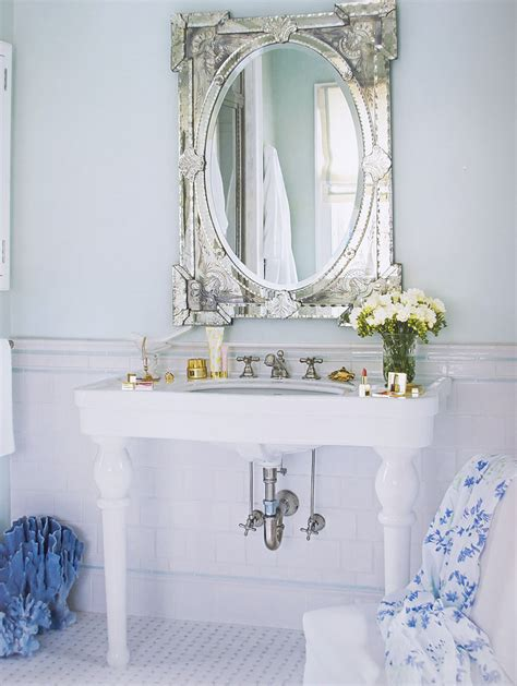 pairs venetian glass mirrors pretty pastels