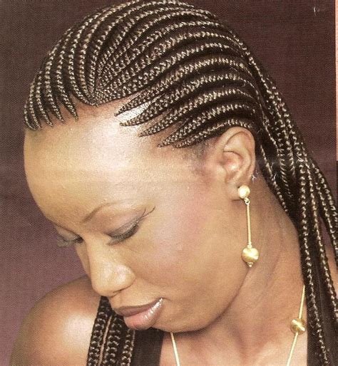 pictures of african braids with braided pony tail at the top braids hanging down in back african hairstyles to get you noticed the xerxes
