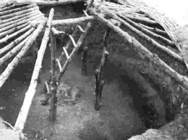 indian pit pit house indian houses for