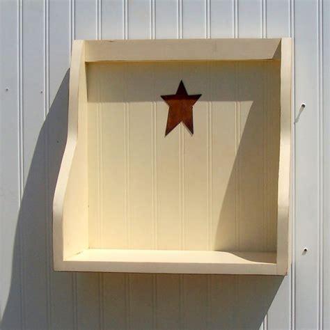 Buttermilk Shelf by Country Chic Cookbook Shelf Buttermilk Wooden Shelf Primitive