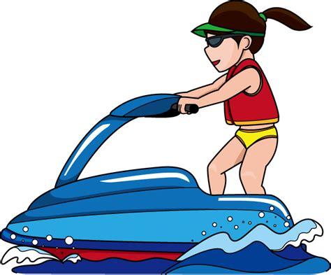 cartoon boat ski jet ski clip art cliparts co