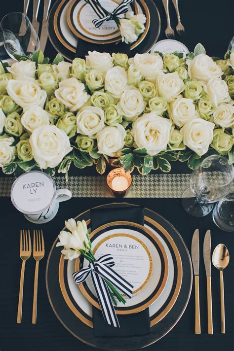 black blue and silver table settings wedding colors white ivory gold sage green emerald green forest dark green jeans wedding