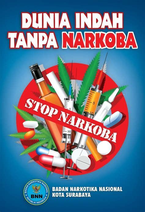 dunia indah  narkoba dunia poster gambar simpel