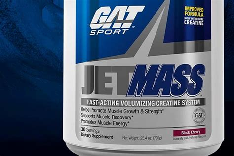creatine jetmass gat s running jetmass reformulated with more creatine