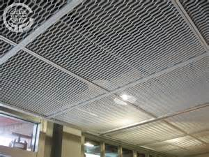 aluminum stretched mesh ceiling metal hanging sheet
