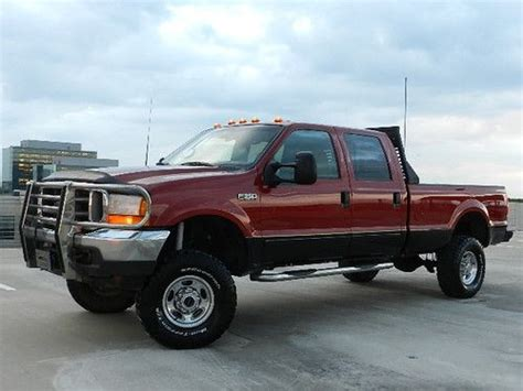 auto air conditioning service 2001 ford f350 interior lighting buy used 2001 ford f350 lifted 4x4 lariat 7 3l v8 power stroke diesel crew cab long bed in
